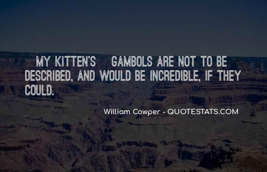 Cat And Kitten Sayings #1492182