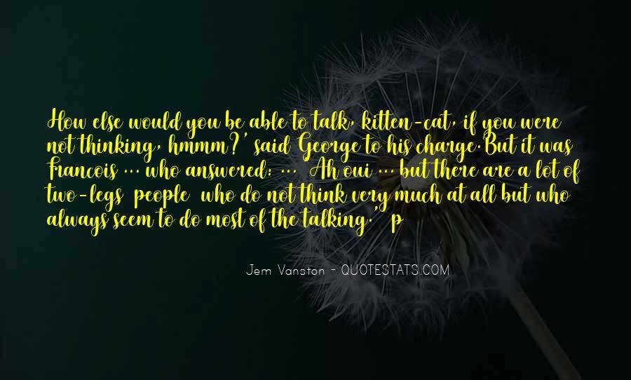 Cat And Kitten Sayings #160373