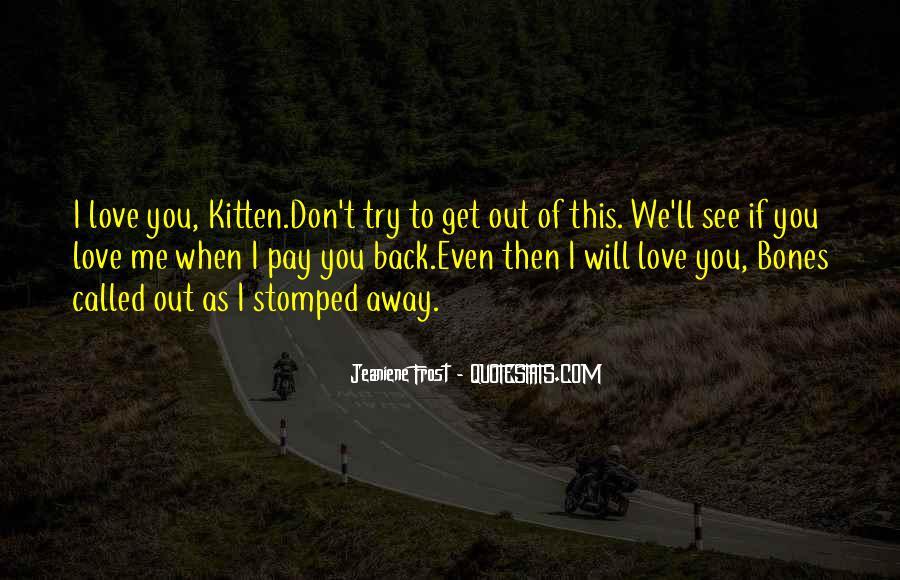 Cat And Kitten Sayings #285533