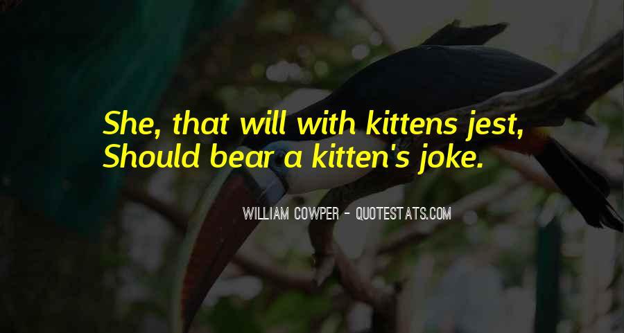 Cat And Kitten Sayings #652363