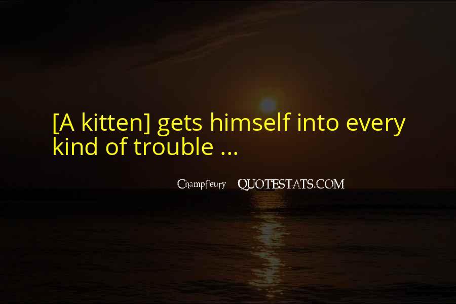 Cat And Kitten Sayings #667825