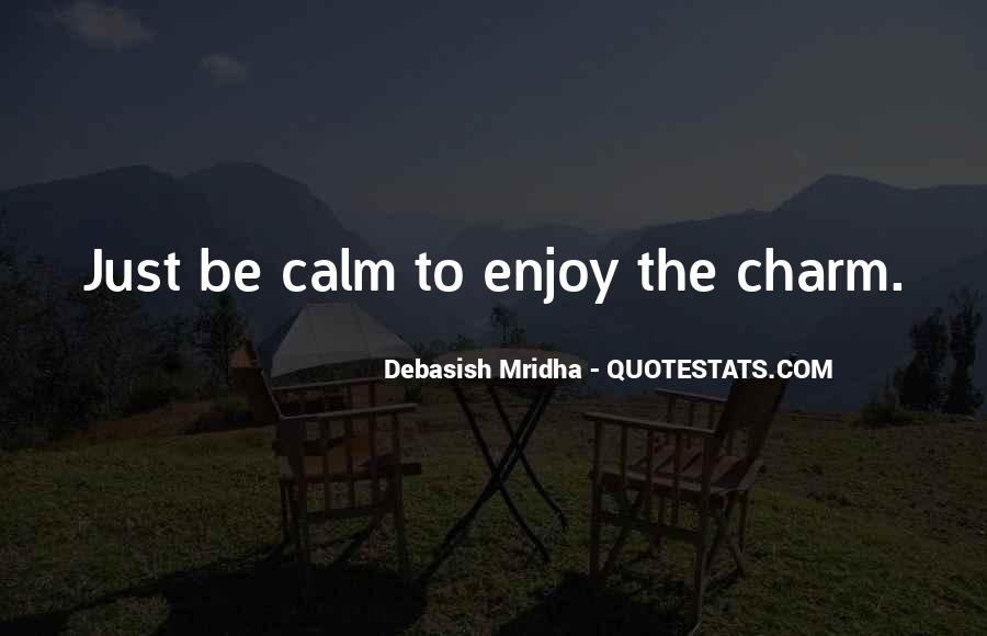 Charm Quotes And Sayings #1387662