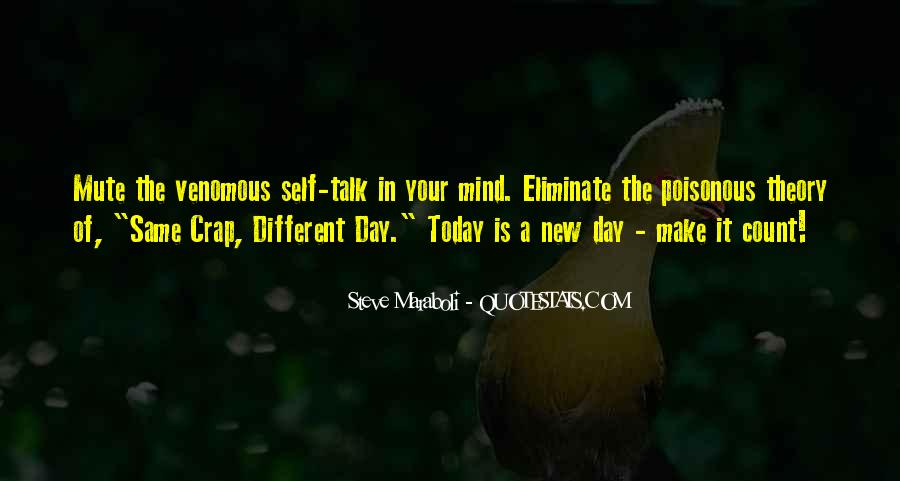 Make Today Count Sayings #507492