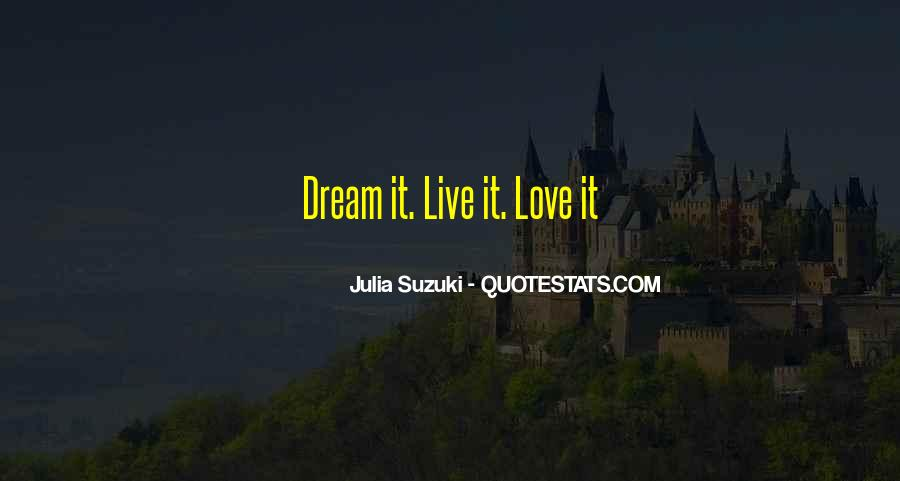 Life Dream Quotes Sayings #264126