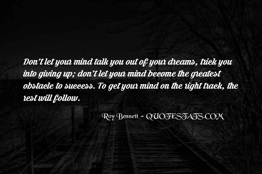 Life Dream Quotes Sayings #403927