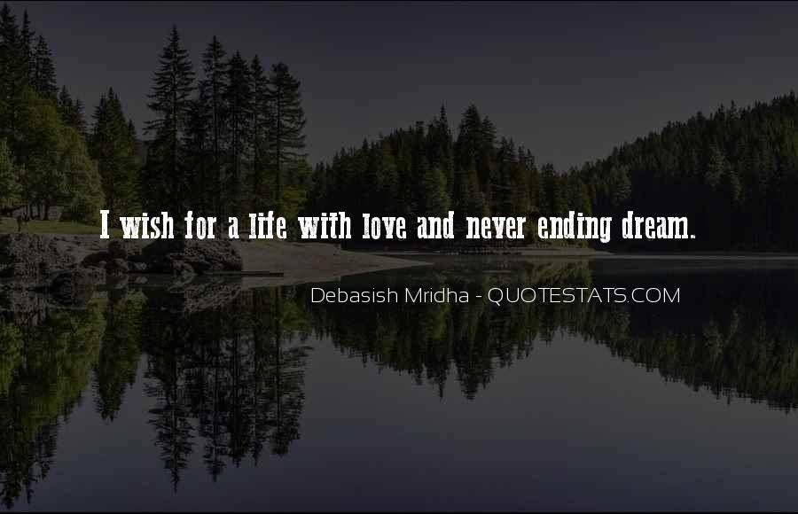 Life Dream Quotes Sayings #419557