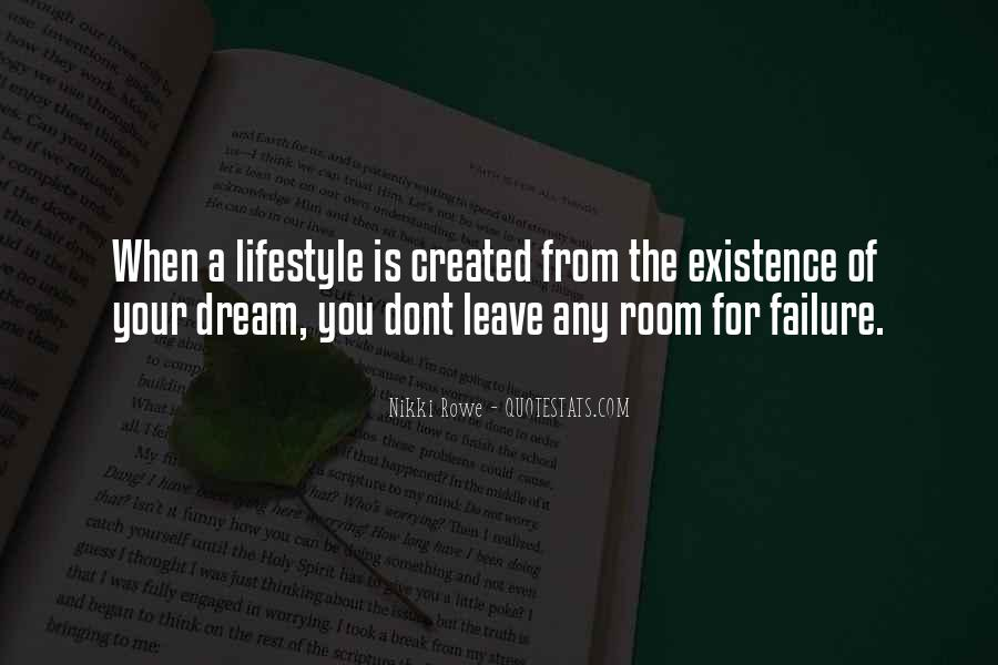 Life Dream Quotes Sayings #740433