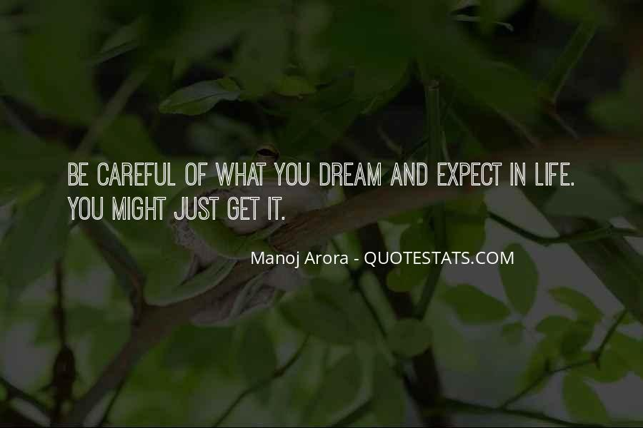 Life Dream Quotes Sayings #963579
