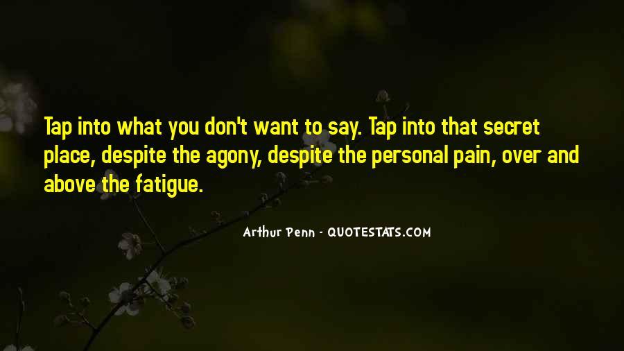 Over Fatigue Sayings #1732970