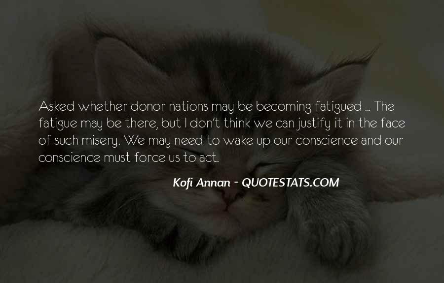 Over Fatigue Sayings #227479