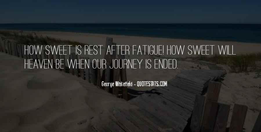 Over Fatigue Sayings #59191