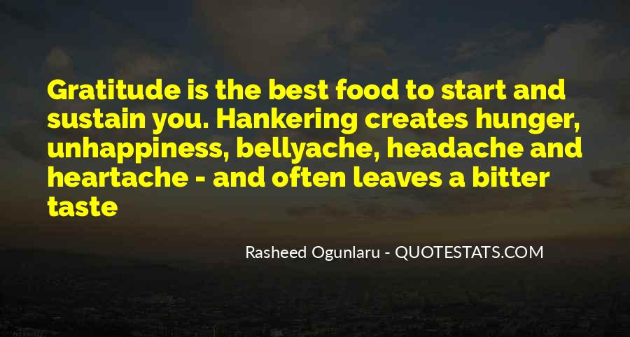 Food Quotes And Sayings #1477092