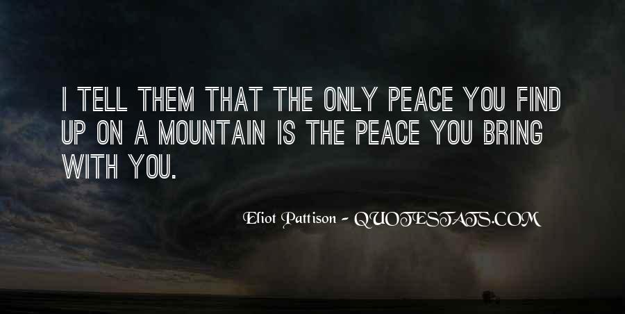 Best Mountain Sayings #18497