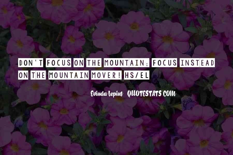 Best Mountain Sayings #5237