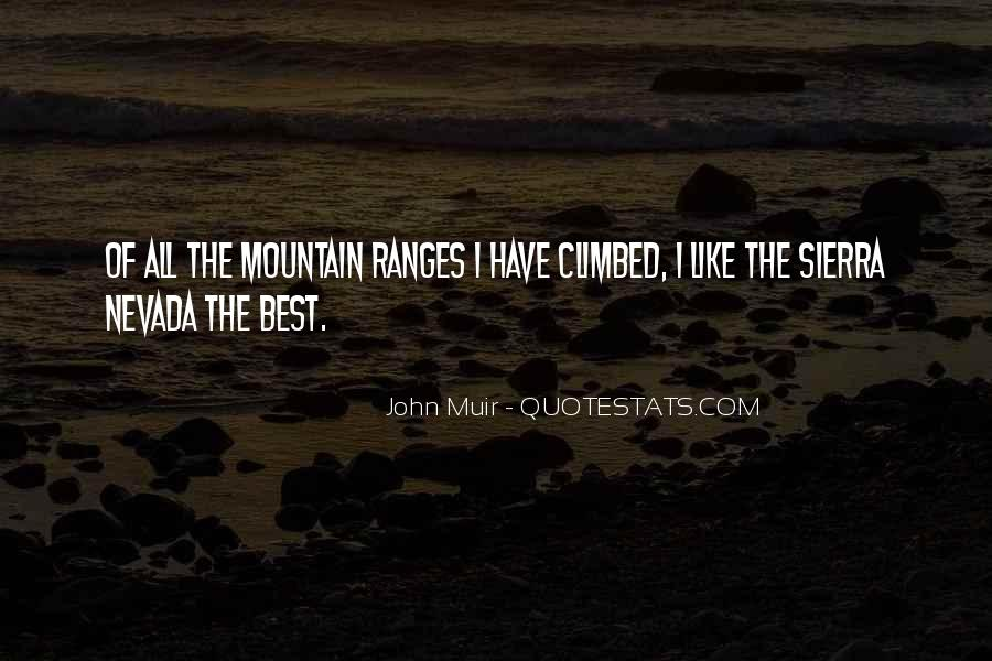 Best Mountain Sayings #54447