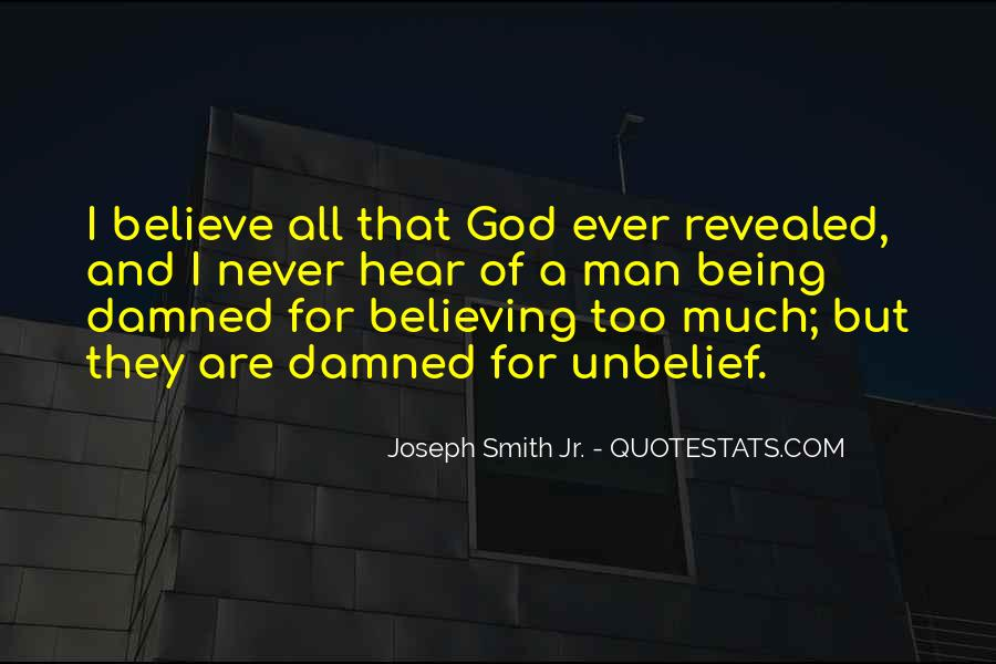 Quotes About Not Believing What You Hear #539528