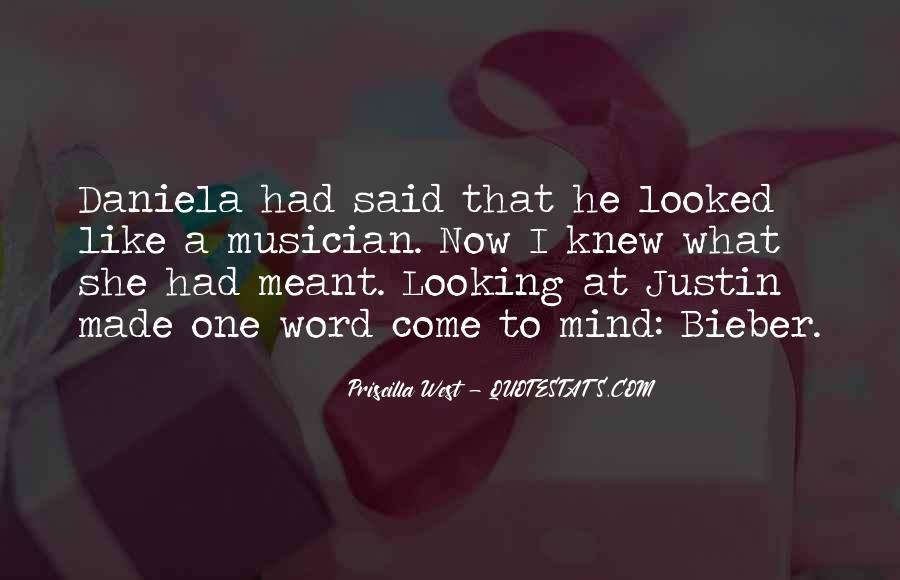 Justin Bieber Best Sayings #130148