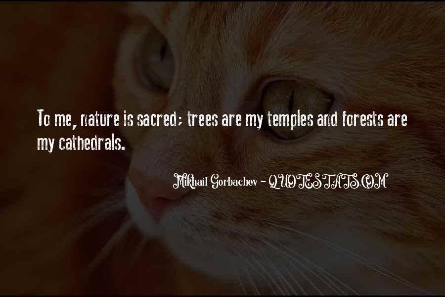 Nature And Me Sayings #11735