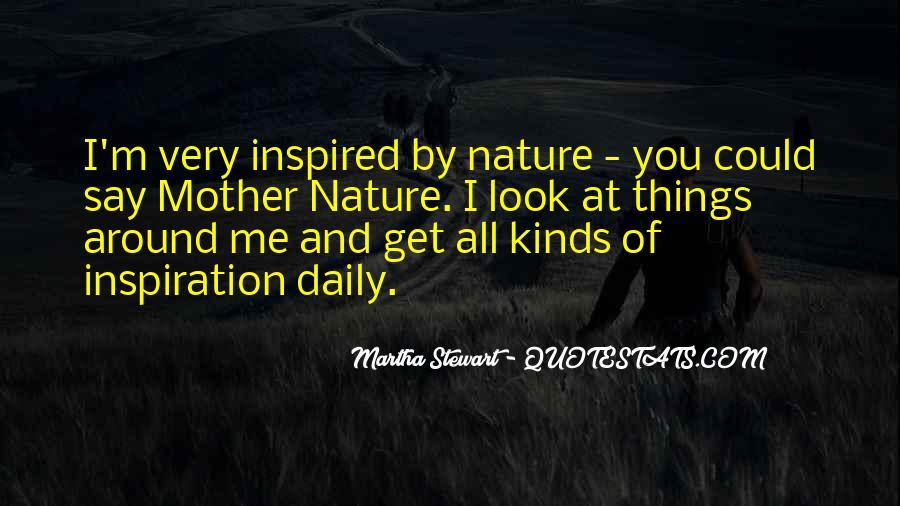 Nature And Me Sayings #224594