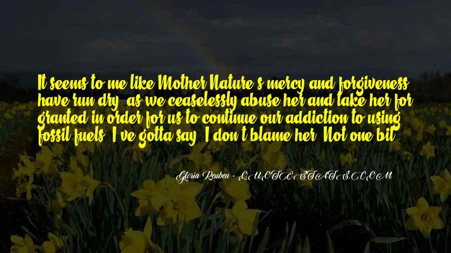 Nature And Me Sayings #226676