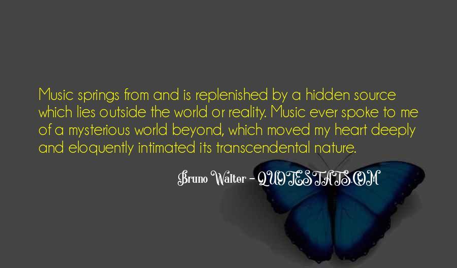 Nature And Me Sayings #261152