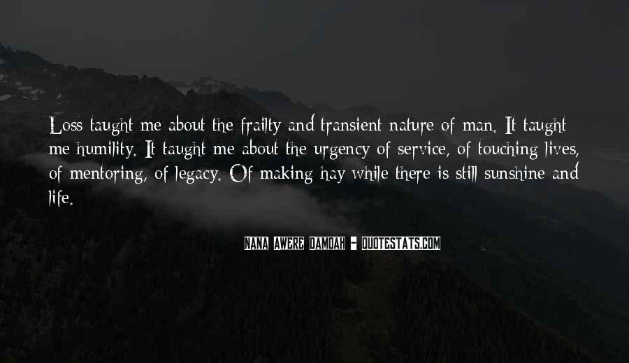Nature And Me Sayings #281425