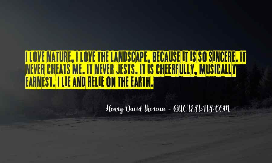 Nature And Me Sayings #48336