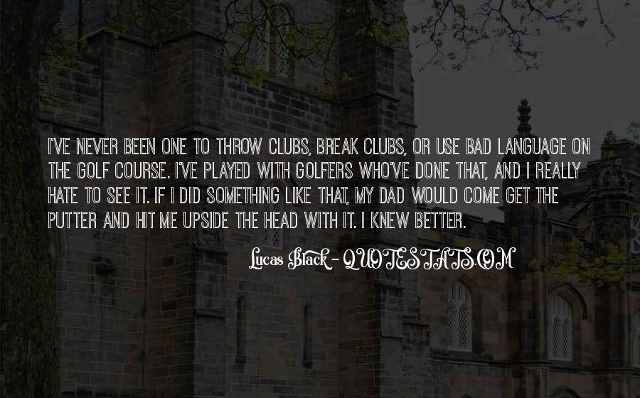 Golf Putter Sayings #1541106