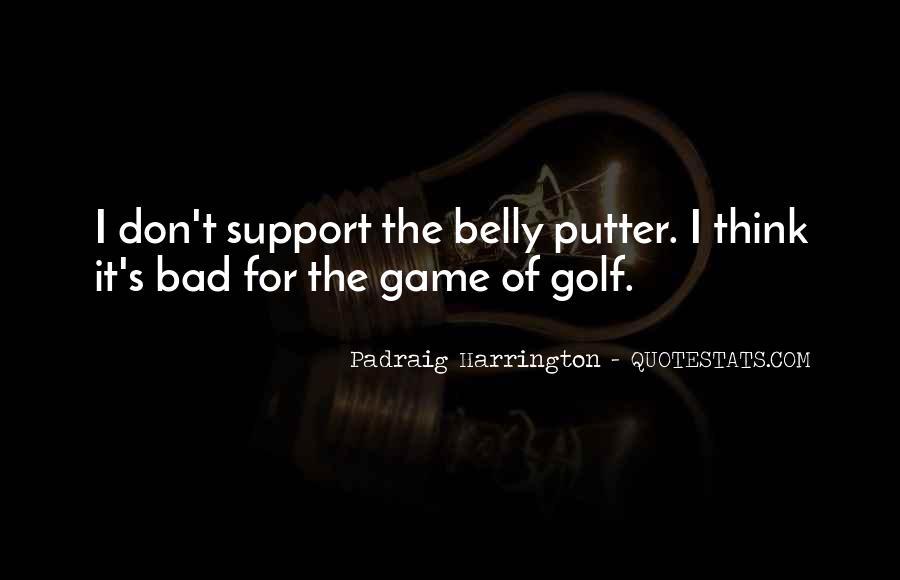 Golf Putter Sayings #1554140
