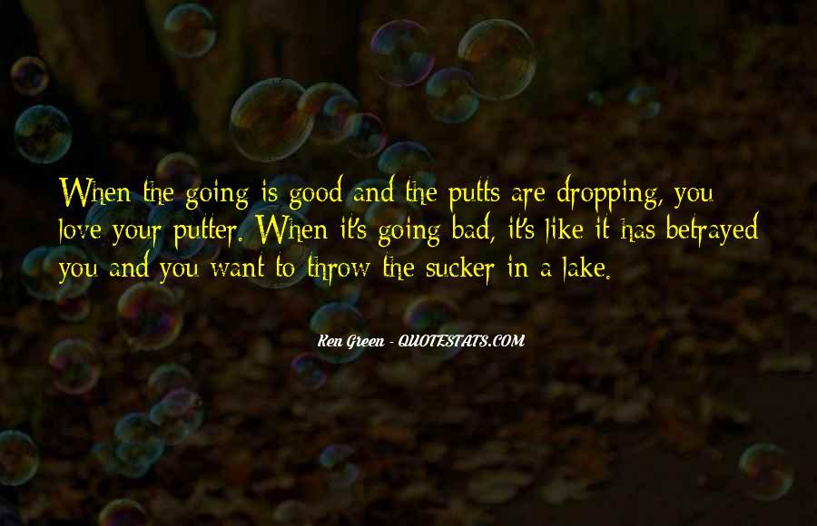 Golf Putter Sayings #1669359