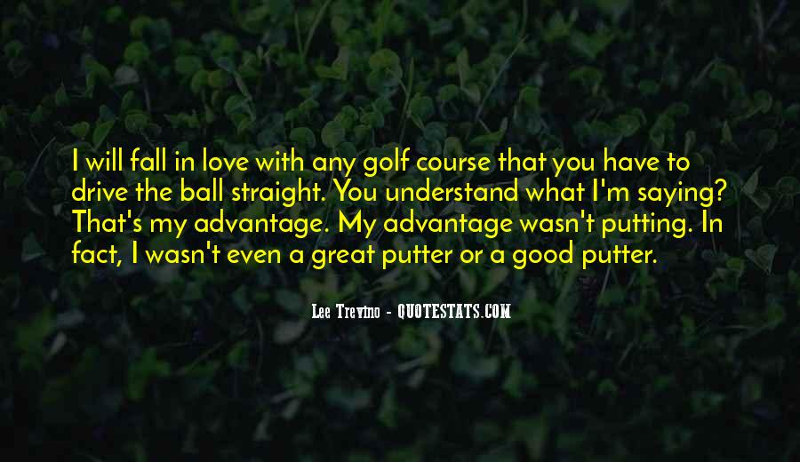 Golf Putter Sayings #1816781