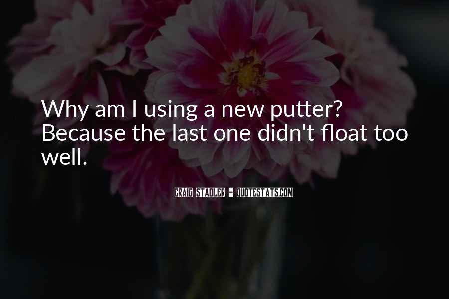 Golf Putter Sayings #843330