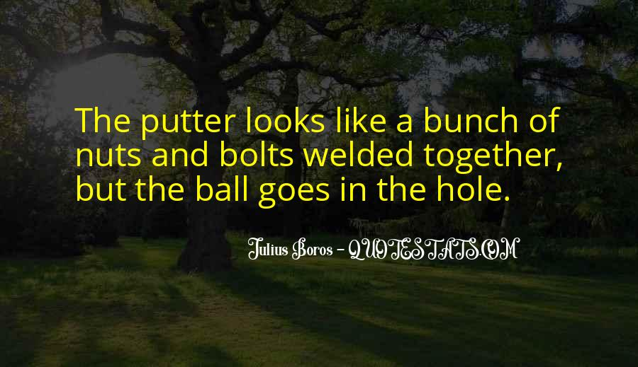 Golf Putter Sayings #957563