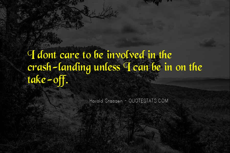 Quotes About U Dont Care #133949