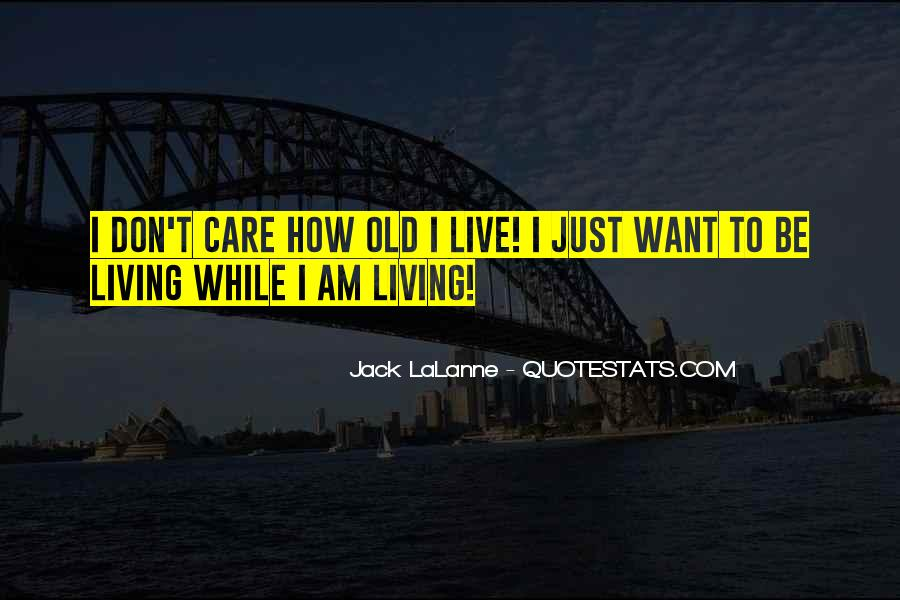 Quotes About U Dont Care #483903