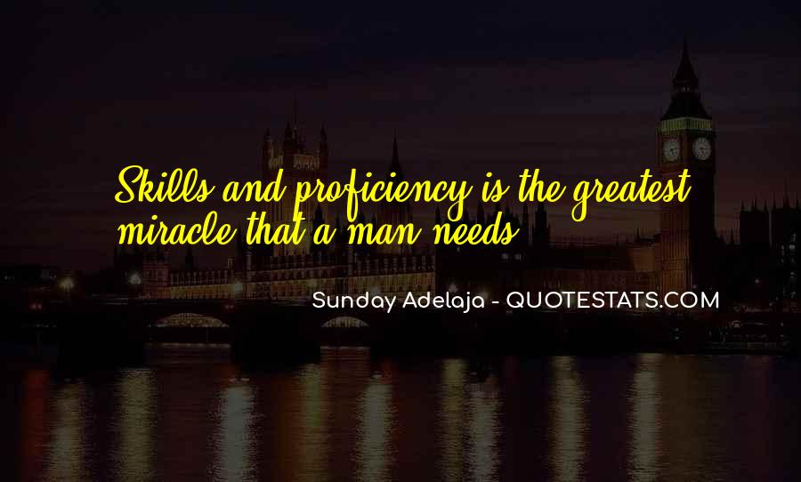 Skills Quotes And Sayings #351673