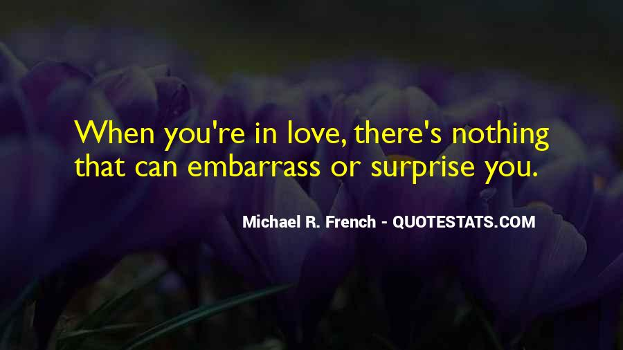 I Love Surprises Sayings #1019791