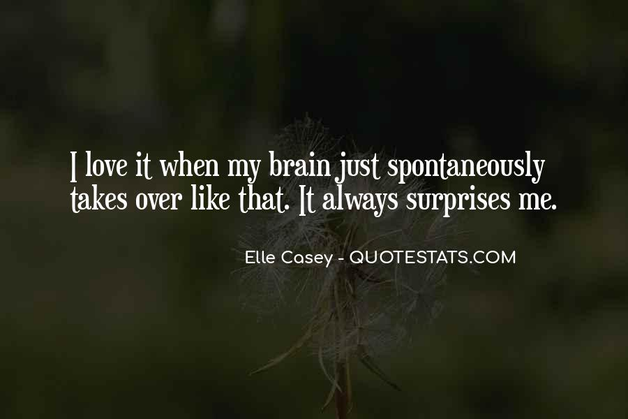 I Love Surprises Sayings #1152658
