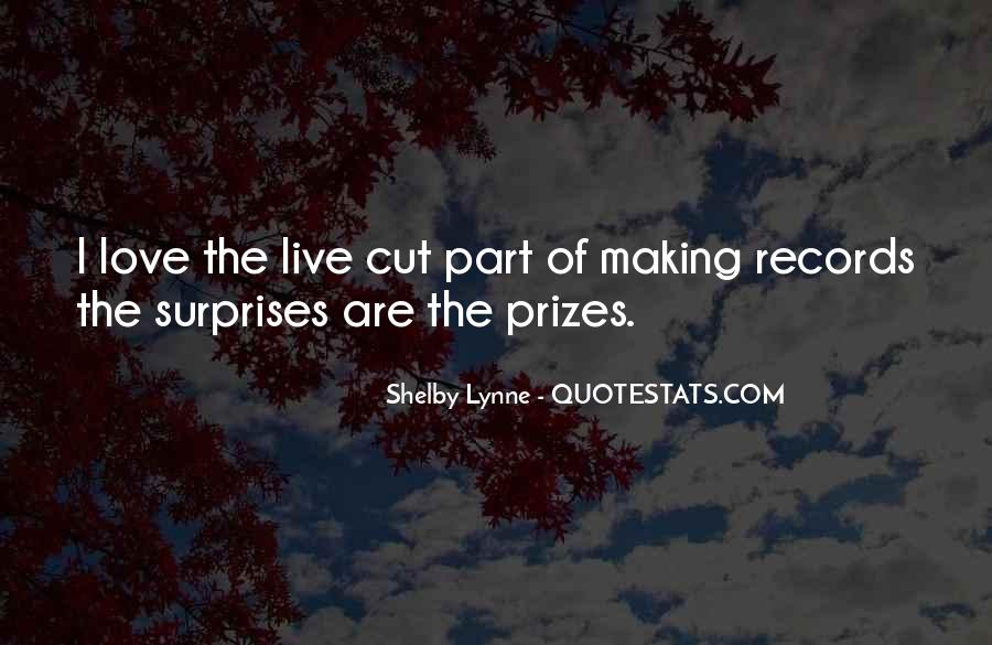 I Love Surprises Sayings #1536972