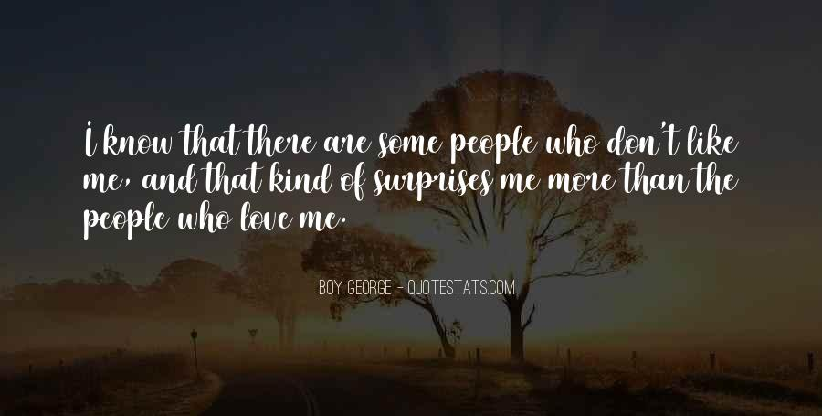I Love Surprises Sayings #242860