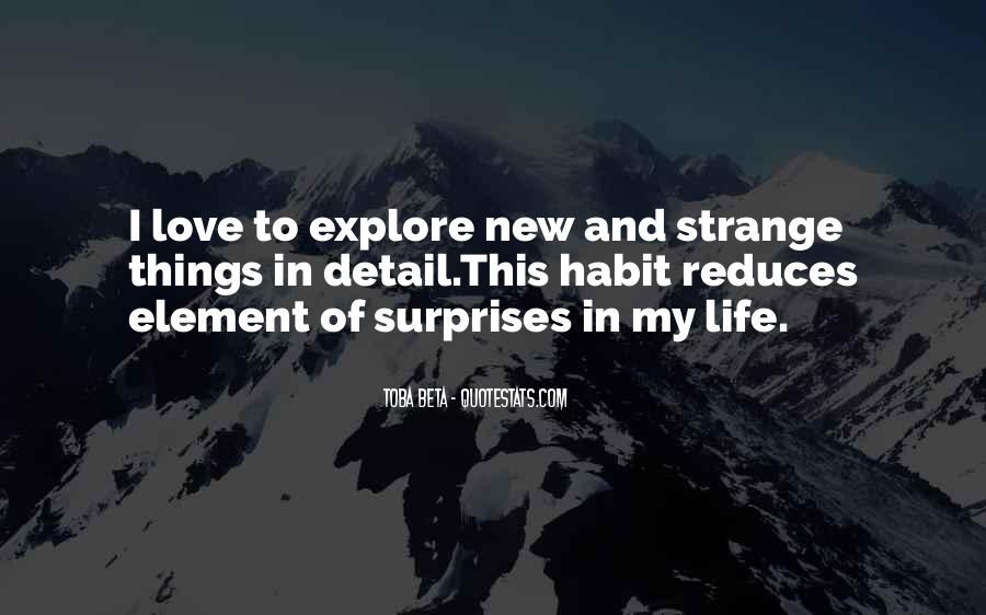 I Love Surprises Sayings #627732