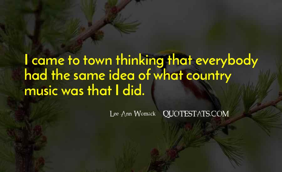 Country Town Sayings #1136149