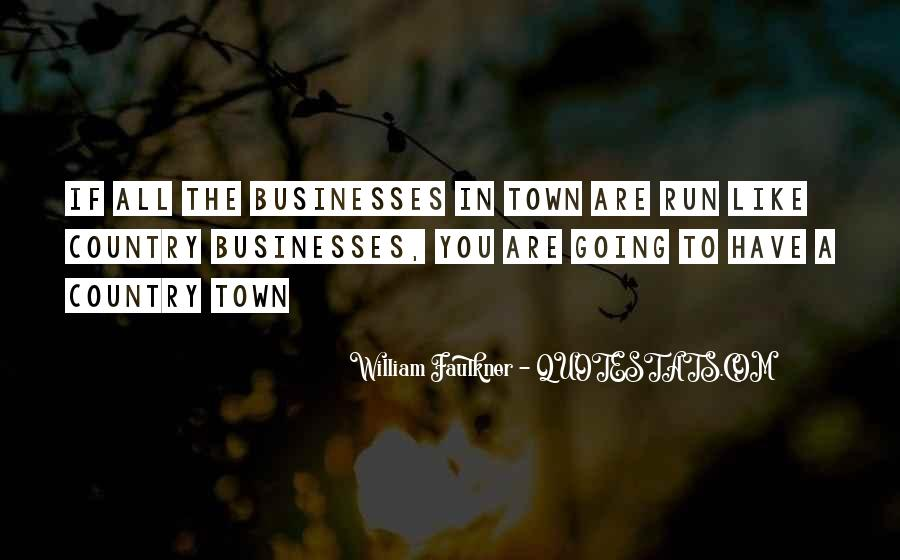 Country Town Sayings #1250722