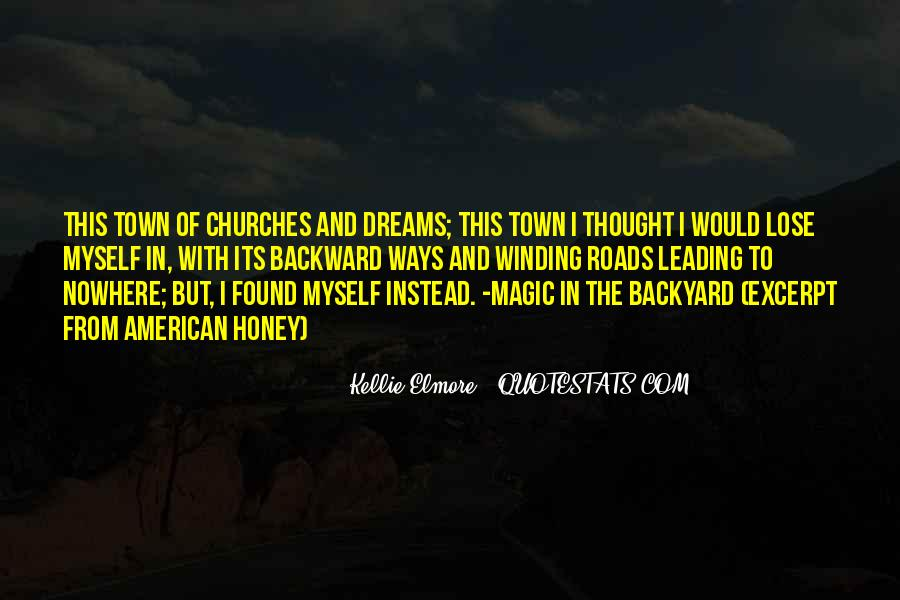 Country Town Sayings #1392103