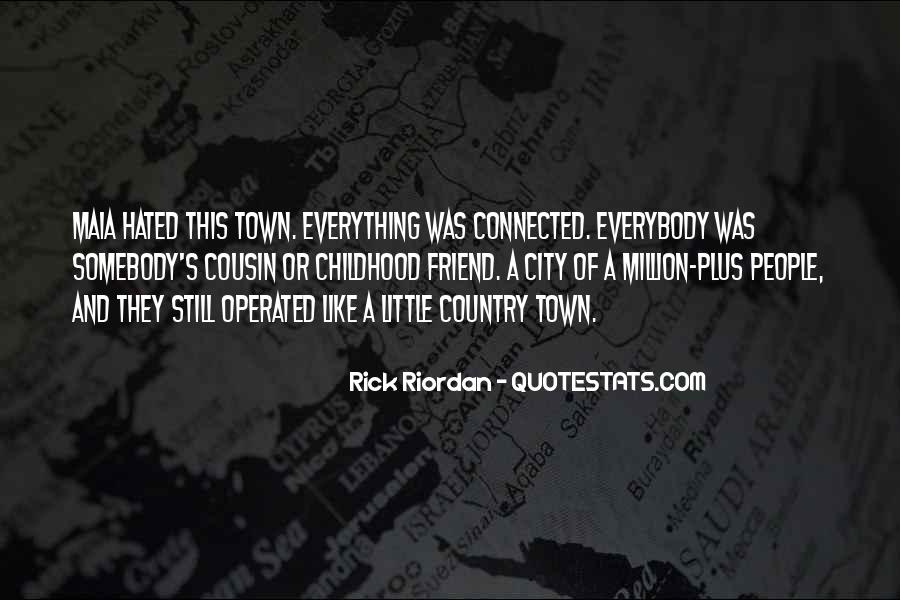 Country Town Sayings #27790