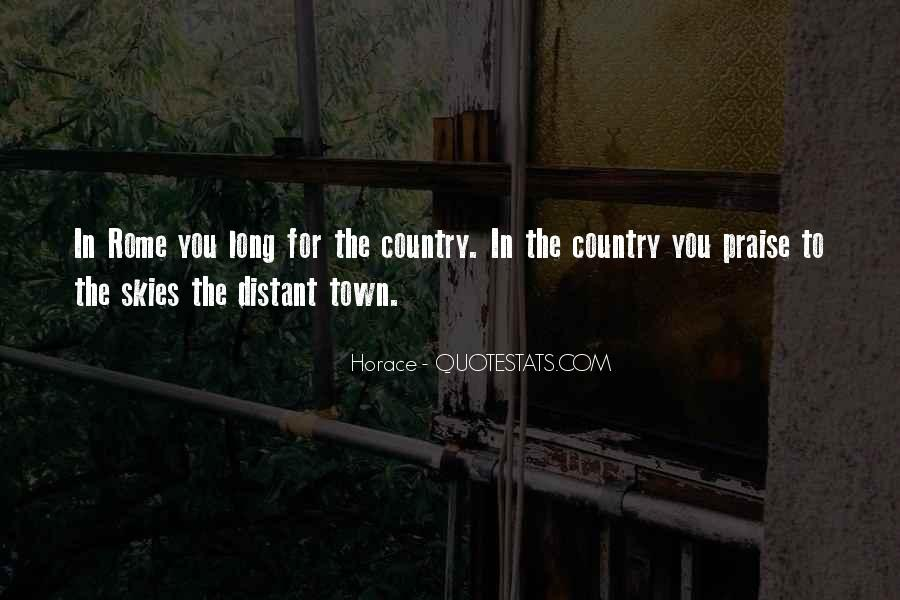 Country Town Sayings #431318