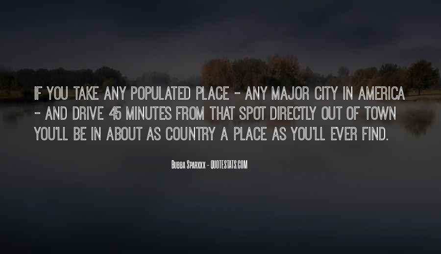Country Town Sayings #703680
