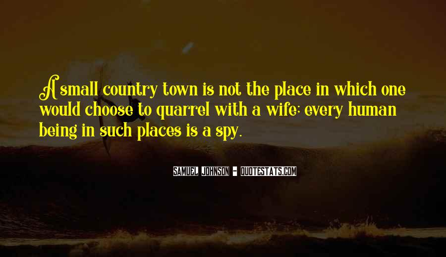 Country Town Sayings #763847