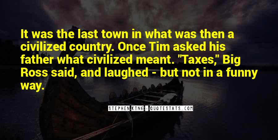 Country Town Sayings #814815