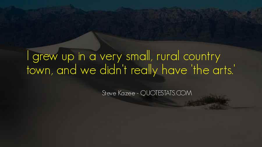 Country Town Sayings #969727